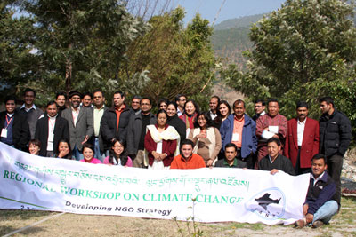 Regional Climate Change Workshop Participants