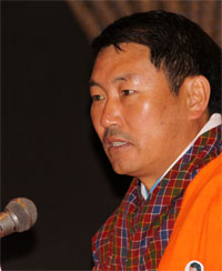 The Guest of Honour Lyonpo Dr. Pema Gyamtsho