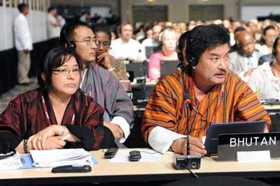 Bhutan's intervention for SAARC as an observer in UNFCCC