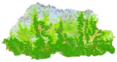Bhutan's new Land cover Map