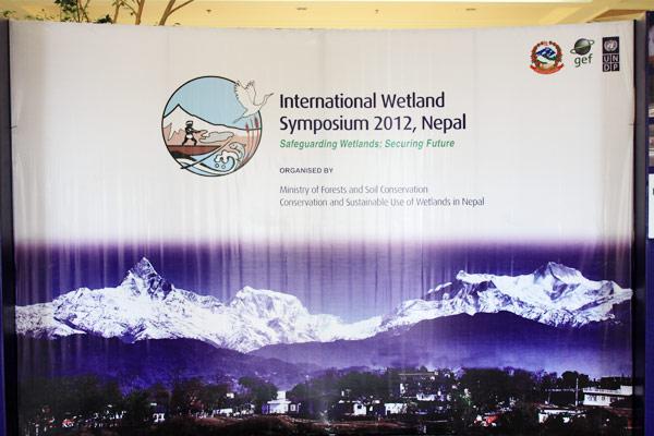 wetlands symposium nepal 2012-banner