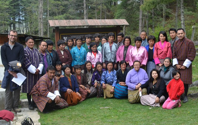 Homestay participants
