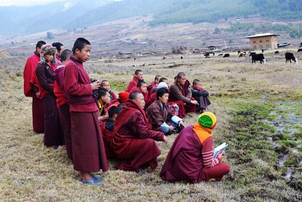 gangtey monks2014-1