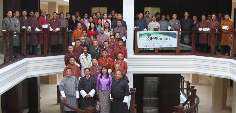 Participants at the GPP Bhutan Seminar